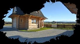 Białka Tatrzańska, domki, na zewnątrz