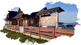 Białka Tatrzańska, domki, na zewnątrz 2