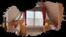Białka Tatrzańska, domki, sypialnia